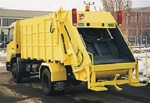 Belediyenin çöp kamyonuyla soygun.17545