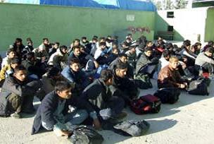 Edirne'de 65 göçmen yakalandı.16827