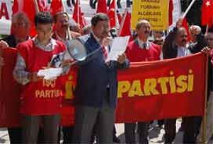 Başkent'te doğalgaza tepki eylemi.13733
