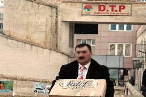 DTP Denizli il binası kundaklandı.13767