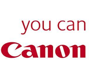 Canon 'kesintisiz devam' dedi.8930