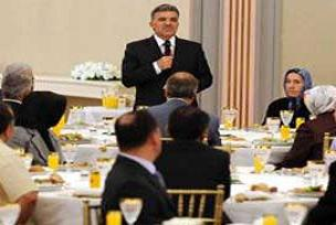 Abdullah Gül'ün %25'lik bütçe farkı!.13212
