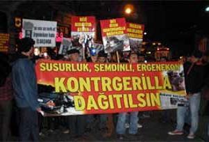Ergenekon karşıtı yürüyüşe polis engeli.14121