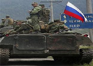 Oset güçleri Gürcü köyüne girdi.14073