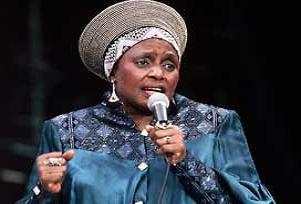Güney Afrika şarkıları öksüz kaldı.12386