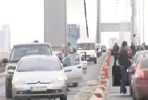 Yeni Galata Köprüsü trafiğine kapanıyor.9849