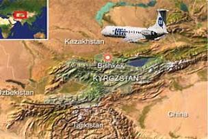 Kırgız uçağını pilot hatası düşürmüş.18774