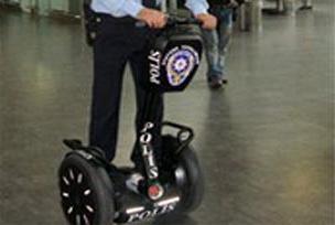 Atatürk Havaalanı'na 'Ginger'lı polis.9495