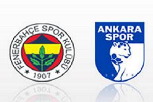 Fenerbahçe 2 - 0 Ankaraspor (Maç Sonu).10546