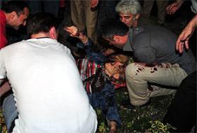 Ankara'da canlı bomba paniği .10994