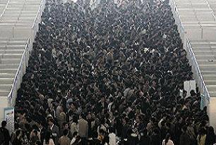 Çin'de 6 milyon üniversite mezunu işsiz.22328