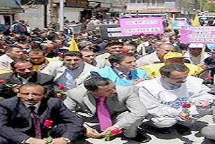 Beyoğlu'nda oturma eylemi .24529