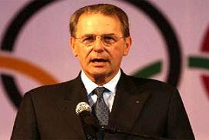 IOC Başkanı Rogge, İstanbul'da.9790