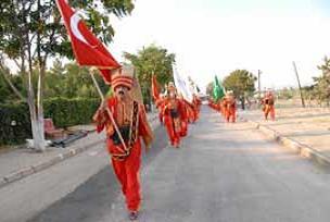 Mardin sokakları mehterle inledi.12601
