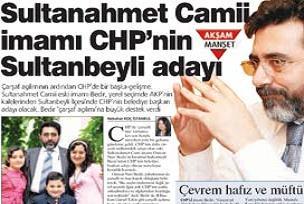 CHP'de çarşaftan sonra İmam aday.20265