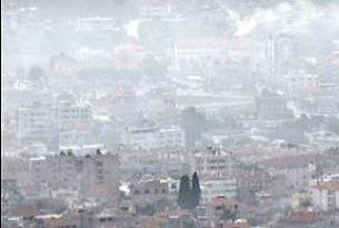 En kirli hava Tekirdağ'da çıktı.10911