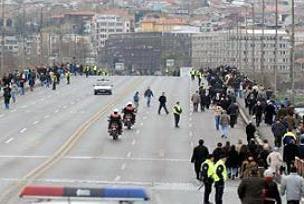 Atatürk Köprüsü'nde feci kaza: 2 ölü.15766