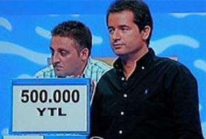 500 bin YTL rüyalarda kaldı.11203