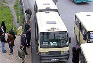 İstanbul'da minibüs ücretlerine zam.15133