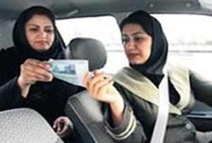 Tahran'da kadın şoförler tercih sebebi.11915