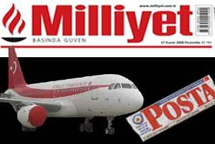 Milliyet'in uçan yalanı Posta'ya takıldı.13261