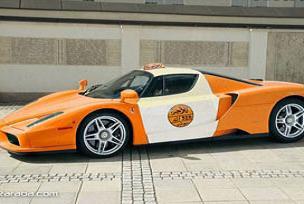 Ferrari Enzo'yu taksi yaptılar!.14309