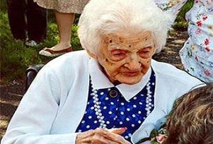 En yaşlı kadın sırrını vermeden öldü.17946