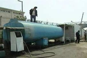 Kocaeli'de 50 ton kaçak akaryakıt.9890