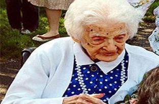 Avrupa'nın en yaşlısı hayata veda etti.16709