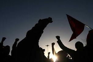 Taksim'de 28 Şubat Protesto edildi!.6568