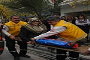 Yaşlı kadın ölümden döndü.13725