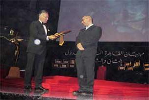 Mısır'da en büyük ödül 'Nokta'ya.10166