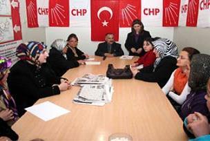 CHP'nin 2'inci çarşaflı katılımcıları.15310