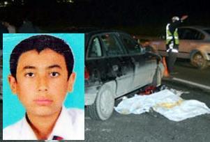 Bir öğrenci daha kaza kurbanı.11997