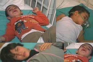 Ankara'da iki çocuk sobadan zehirlendi.11939