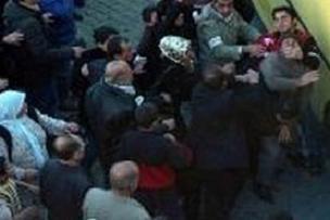 DTP'liler Türk bayrağına saldırdı!.10235