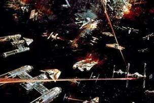 Uzay savaşları için ilk atışlar yapıldı.14424