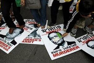 Tayland eylemciler gösterileri bitirdi.16828