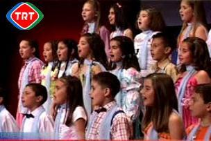 TRT Çocuk Şarkı Yarışması finalistleri.16286