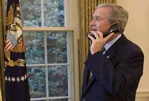 George Bush'a müşteri çekme teklifi.12235