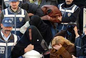Bursa'da uyuşturucu operasyonu: 35 tutuklu.15826