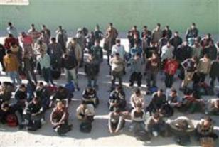 Edirne'de Burmalı 28 kaçak yakalandı.21877