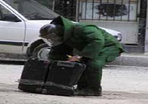 Unutulan çantayı bomba sandılar .11825