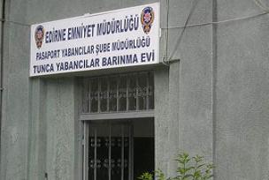 Yabanc�lar Bar�nma evinde yang�n.11814