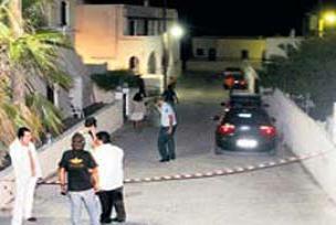 Beykoz'da haciz cinayetle noktalandı.12633