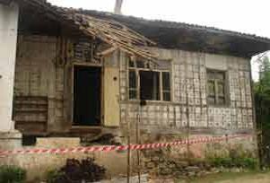 Trabzon'da heyelan: 1 çocuk öldü.12178