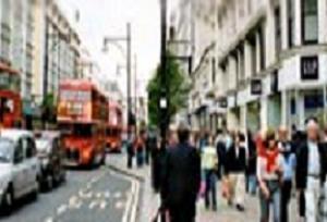 Londra'da ulaşım kaosa sokan grev.13480