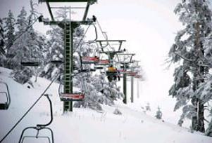 Uludağ'da kar kalınlığı 3 santimetre.15061
