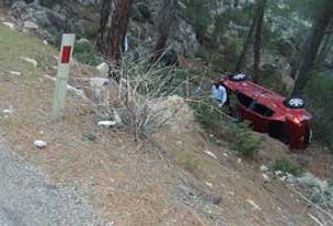 Mardin'de trafik kazası: 5 İranlı yaralı.14408
