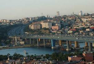 Atatürk ve Galata Köprüsü trafiğe kapalı.13042